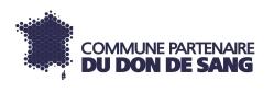 logo des communes partenaire du don du sang