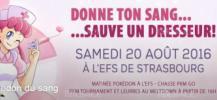 Op�ration don de sang pour les dresseurs de pok�mon