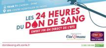 Les 24 heures du don de sang au Mans