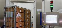 portique RFID destin� � la gestion des plasmas du LFB