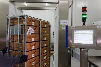 portique RFID destiné à la gestion des plasmas du LFB