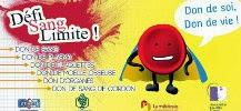 logo du Défi sang limite pour le don du sang des étudiants