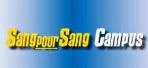 Logo de Sang pour Sang Campus pour le don du sang des jeunes